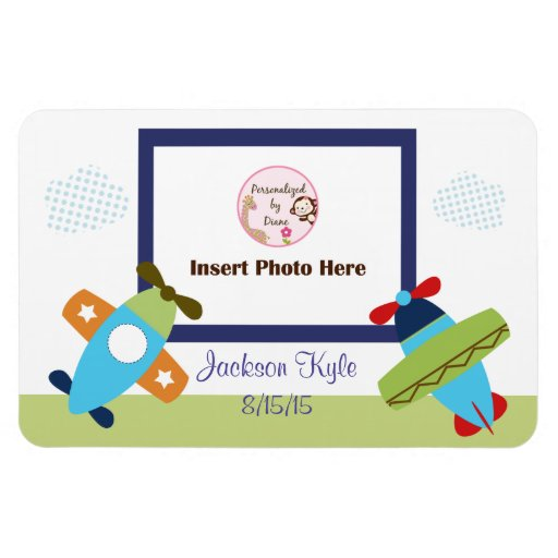 Airplanes Taking Flight Photo Magnet
