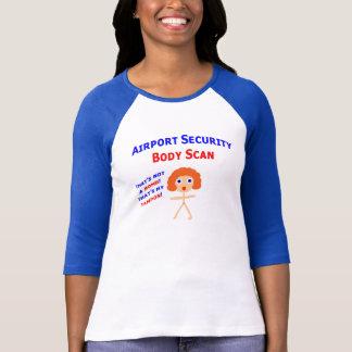 Airport Body Scan T-Shirt
