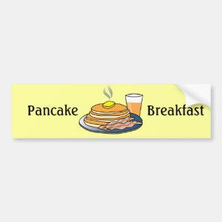 Airport Fundraiser Pancake Breakfast Bumper Sticker