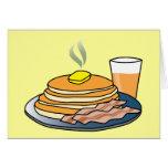 Airport Fundraiser Pancake Breakfast Greeting Cards
