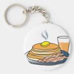 Airport Fundraiser Pancake Breakfast Keychain