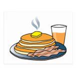 Airport Fundraiser Pancake Breakfast Postcard