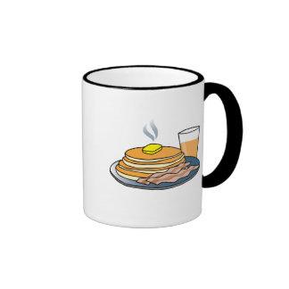 Airport Fundraiser Pancake Breakfast Ringer Mug