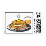 Airport Fundraiser Pancake Breakfast Stamps