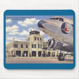 Airport, Jacksonville, Florida, Vintage Mouse Pad