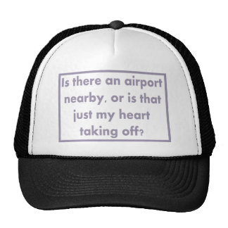 Airport Nearby Trucker Hat