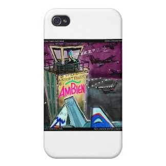 Airport Outofcontrol Tower Funny Gifts Etc iPhone 4 Cover