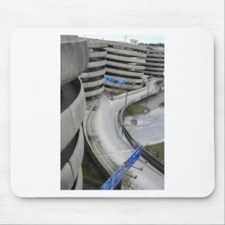 Airport Parking Structure Mouse Pad