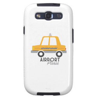 Airport Please Samsung Galaxy SIII Cases