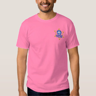 Airport Police Embroidered T-Shirt
