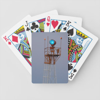Airport Searchlight Beacon Tower Playing Cards Bicycle Playing Cards