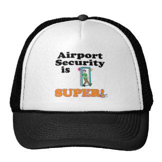 airport security is super trucker hat