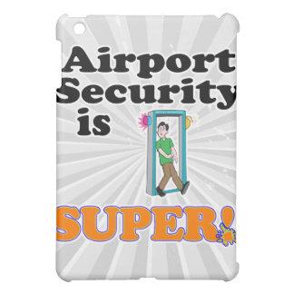 airport security is super iPad mini cases