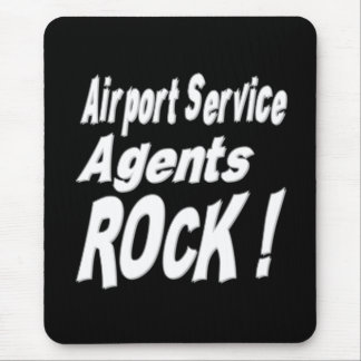 Airport Service Agents Rock! Mousepad