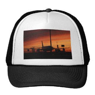 airport under an vaulcanic ash cloud trucker hat