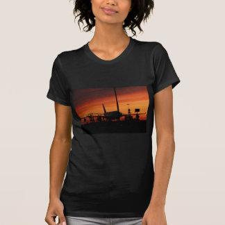 airport under an vaulcanic ash cloud t-shirts