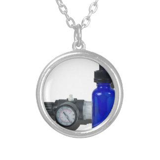 AirRegulatorDropperBottle061615.png Silver Plated Necklace