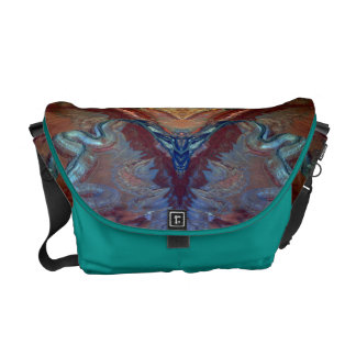 Airs of desert seen of the airs messenger bag