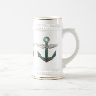 Airship Anchors Beer Stein