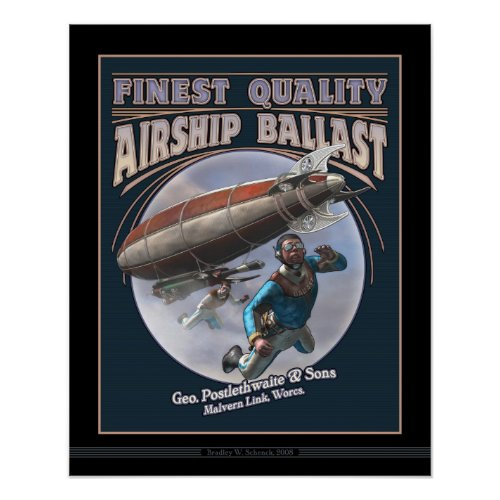 Airship Ballast poster (16x20