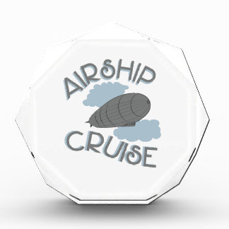 Airship Cruise Acrylic Award