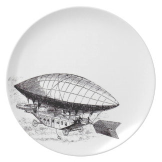 Airship Dining Plate