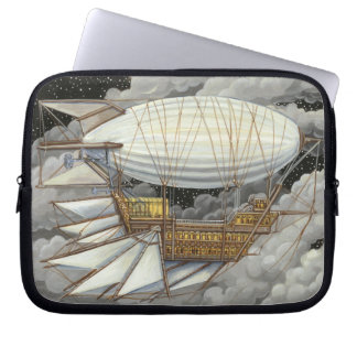 Airship Express Steampunk Electronics Sleeve