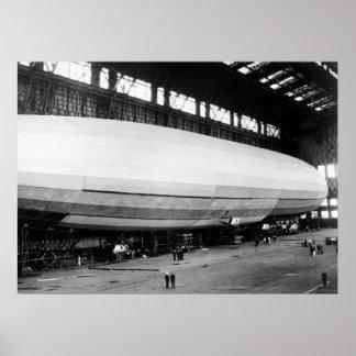 Airship Garage, 1920s Posters