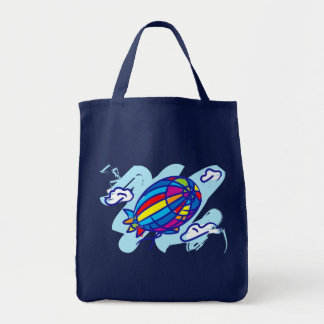Airship_Journey Grocery Tote Bag