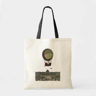 Airship Over City Tote Bag