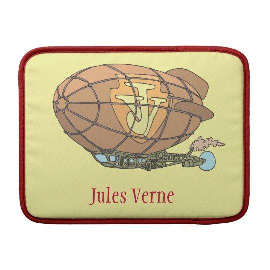 """airship """"steampunk"""" Jules Verne MacBook Sleeves"""