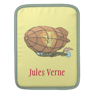 "airship ""steampunk"" Jules Verne Sleeve For iPads"