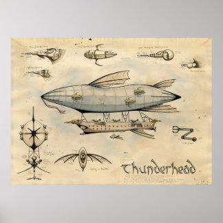 Airship Thunderhead Poster