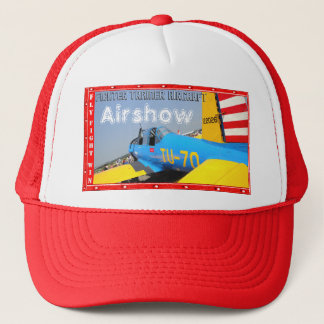 Airshow Aircraft Vultee BT-13 Trainer! Trucker Hat