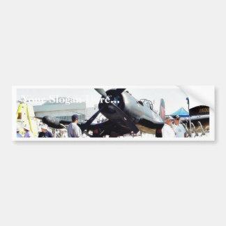 Airshow Airplanes Car Bumper Sticker