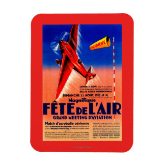Airshow Featuring Haryse Hilsz Promotional Poste Magnet
