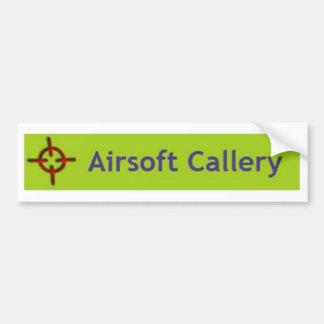 Airsoft Callery Bumper Sticker
