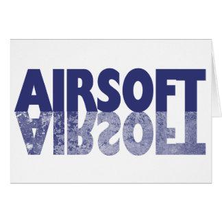 AIRSOFT CARD