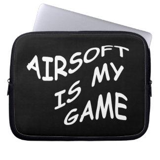 Airsoft es mi bolso de la electrónica del juego mangas portátiles