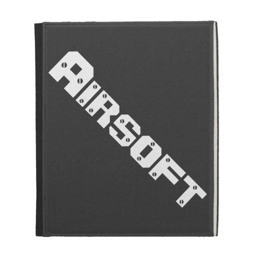 "Airsoft Gear  ""iPad Case"" iPad Folio Cover"