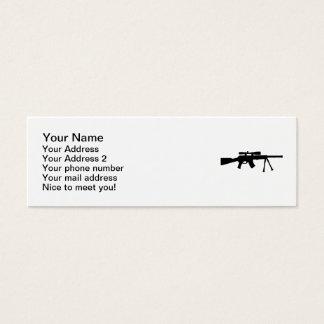 Airsoft gun mini business card