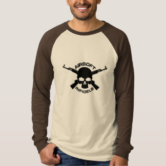 Airsoft Infidels Official long sleeve T Shirts