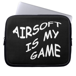 Airsoft is my Game Electronics Bag Laptop Sleeve