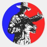 Airsoft sport logo sticker
