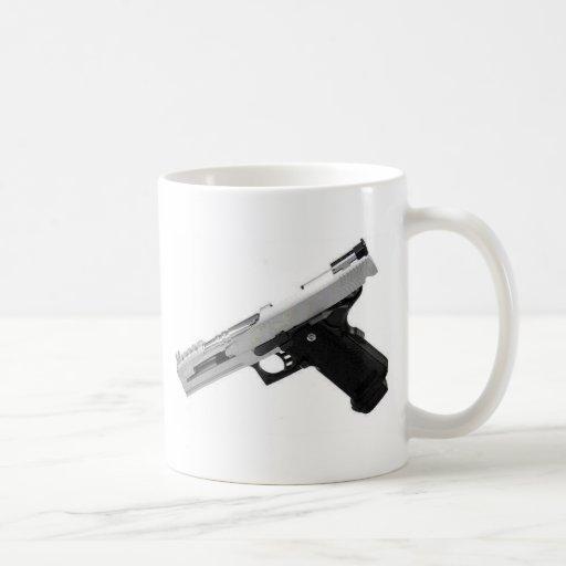 airsoft taza básica blanca