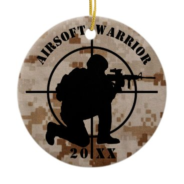 Airsoft Team Christmas Ornament