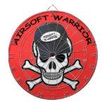 Airsoft Warrior Dart Board