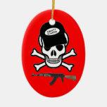 Airsoft Warrior Ornament