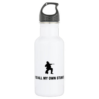Airsofting Stainless Steel Water Bottle