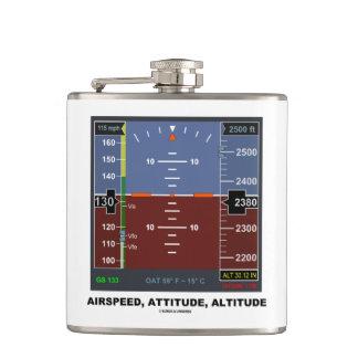 Airspeed Attitude Altitude Electronic Flight EFIS Hip Flask
